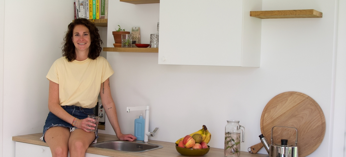 groene dromers - tiny house - duurzaam - Yvonnetwork